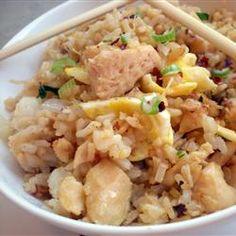 Chinese Chicken Fried Rice II start with rotisserie  chicken
