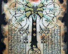 HABITANT dans le sphères Cthulhu larp Necronomicon par zarono