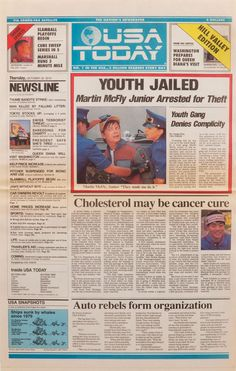 USA TODAY - 2015: Youth Jailed