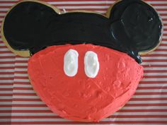 Everyone loves Mickey Mouse even in cookie form!