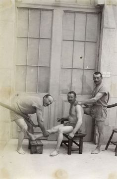 Men's Spa, France 1875