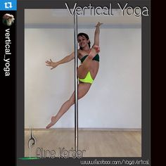 Not sure how this move is possible, but it's so cool! Repost @vertical_yoga ・・・