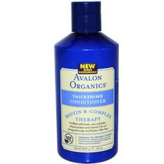 Avalon Organics, Thickening Conditioner, Biotin B-Complex Therapy, 14 oz (397 g)