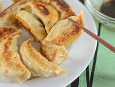 Pan Fried Vegetable Dumplings