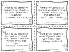 Worksheets Choices And Consequences Worksheet choices and consequences a decision making activity packet packet