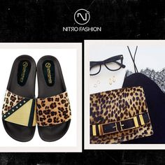 get the style -> Animal Patchwork #nitrofashion slippers <3