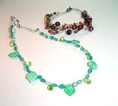 The Beading Gem's Journal: Tutorials on How To Make Wire Crochet Jewelry