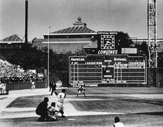 Forbes Field, Pittsburgh, PA. Home of the immortal Roberto Clemente. And some guy named Mazeroski hit a home run there that people still talk about now and again.