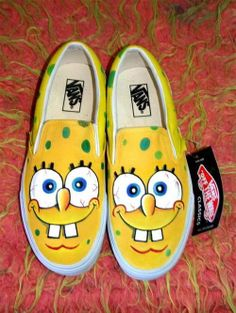 funny shoes sponge bob Funny Creative Shoes Picture Collection (39 Pics)