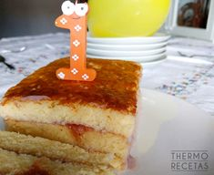 Tarta para bebés: mi primer cumpleaños - http://www.thermorecetas.com/tarta-bebes-primer-cumpleanos/