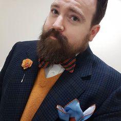 Style blogger Norton of Morton injects a pop of colour to his attire with our KOUFUKU Japanese cranes printed silk pocket square... #pocketsquares #pocketsquare #madeinengland #madeinbritain #cravatclub #london #gentleman #menswear #style #mensstyle #mens #dapper #sartorial #sharp #distinguishedgentleman #sprezzatura #mensfashionpost #buybritish #sartorial #mensaccessories #handkerchiefs #silkhandkerchief #japanese #cranes #ukiyoe