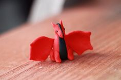 Red and Black Dragon by Pint Sized