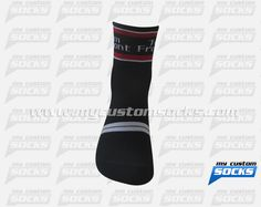 Socks designed by My Custom Socks for Team Fremont/FFBC in Fremont, California. Cycling socks made with Coolmax fabric. #Cycling custom socks - free quote! ////// Calcetas diseñadas por My Customs Socks para Team Fremont/FFBC en Fremont, California. Calcetas para Ciclismo hechas con tela Coolmax. #Ciclismo calcetas personalizadas - cotización gratis! www.mycustomsocks.com
