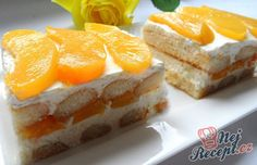 Easy Cooking, Cooking Recipes, Torte Cake, Czech Recipes, Summer Cakes, Banoffee, Fancy Cakes, No Bake Cake, Sweet Tooth