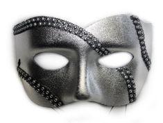 Silver Masquerade Mask For Men  #silver #mask #Masquerade #MasqueradeMask
