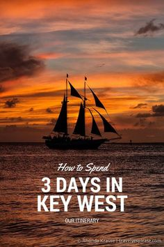 travelyesplease.com | How to Spend 3 Days in Key West- Our Itinerary (Blog Post) | Key West Sunset, Florida