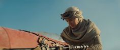 Star Wars 7 Trailer Analysis: A Closer Look At The Visuals & Story - Ridley's character is said to be a street-smart salvager working for Max von Sydow's old demented cyborg character. She brings him the lightsaber for info – but he may be an old member of the Jedi-hunting Inquisitors, who are connected to the Sith... Ya mean she Ain't a Solo? :'(