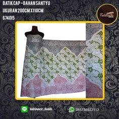 kain batik madura cap