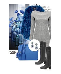 """""""Sweater dress"""" by merima-kopic ❤ liked on Polyvore featuring Prada and yoins"""