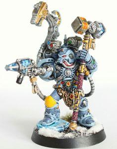 Iron Priest. Space wolf. Warhammer Miniatures.