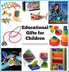 Montessori Nature: Educational Gifts for Children.