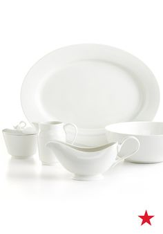 Holidays at your house this year? Then now's a good time to invest in classic Whiteware Serveware from Martha Stewart Collection and get ready to wow your guests.