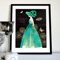 Essence Chanel quote chanel print chanel quote print Coco