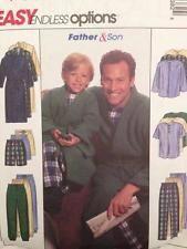 McCalls Sewing Pattern 9638 Boys Robe Top Pants Shorts Size 3-8 Uncut