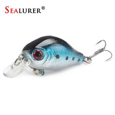 SEALURER Brand Floating Wobbler Fishing VIB Lure 5cm 8G Artificial Pesca Fly Fishing Crankbait Hard Bait Tackle 5color Available