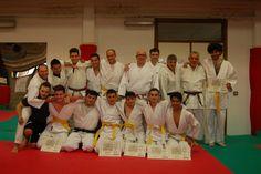Judo passaggio di cinture