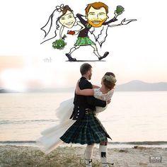 Sonho de um casamento em Florianópolis. A brasileira Gabriela e o escocês Colin. Foto#rudibodanese #santacatarina @hotelcostanortepontadascanas @Elfigabriela @gabiliesenberg