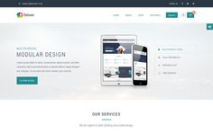 DOWNLOAD - Deluxer Business + Shop + 1Page Theme