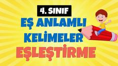 4. SINIF EŞ ANLAMLI KELİMELER EŞLEŞTİRME ETKİNLİĞİ Youtube, Movies, Movie Posters, Films, Film Poster, Cinema, Movie, Film, Movie Quotes