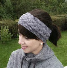 gurimalla: Pannebånd igjen. Winter Hats, Crochet Hats, Beanie, Knitting, Creative, Fashion, Knitting Hats, Tricot, Fashion Styles
