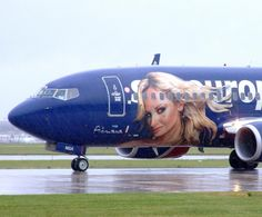"Sky Europe Airlines, Boeing 737     OM-NGA  in ""Adriana Karembeu"" livery"