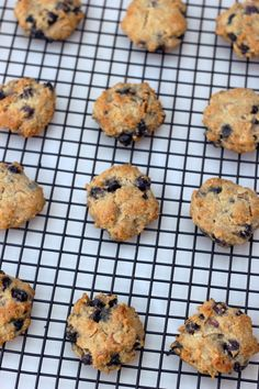 Grain-Free Blueberry Almond Breakfast Cookies | Free People Blog