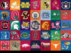 College Football Logo's