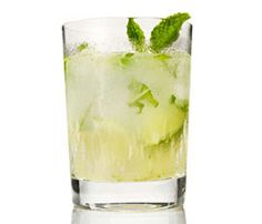 From Saintly to Sinful, Green Drinks for Any Mood: Mojito. If girlie drinks aren't your jam, try this classic mojito, lightened up with lime zest and sparkling water. Still just 151 calories per drink. #SelfMagazine