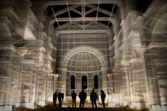 artist Edoardo Tresoldi creates a phantom basilica in Italy's Puglia