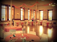 Provo Library ballroom - just an idea of the space (not the decorations).
