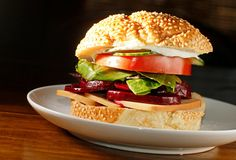 The Chubby Vegetarian: Roast Beet Sandwich