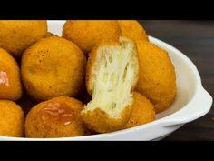 YouTube Beignets, Mozzarella, Cheese Recipes, Cake Recipes, Desert Recipes, Cornbread, Sweet Potato, Buffet, Deserts