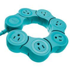 Quirky Pivot Power Flexible Power Strip,  $19.99