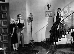 Barbara Stanwyck and Fred MacMurray in Double Indemnity (Billy Wilder, 1944)