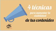 4 formas estupendas para aumentar la visibilidad de tus contenidos Blog, Social Media, Letters, Marketing, David, Shapes, Blogging, Letter, Social Networks
