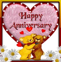 #Whatsapp this #cute #ecard to your spouse to wish him/her a #HappyAnniversary.