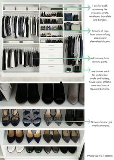 how to organize your closet wardrobe