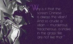 Chinese-American actress Anna May Wong was a trailblazer despite the openly racist industry in which she worked. Remembering her story and contemplating how much things have changed. Classic Hollywood, Old Hollywood, Asian American Actresses, Snake In The Grass, Anna May, Star Wars, Chinese American, Agent Of Change, Buzzfeed News