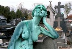Fine art photography of nude figure in Pere Lachaise Cemetery Paris France Pere Lachaise Cemetery, Cemetery Art, Paris City, Story Inspiration, Fine Art Photography, Image Search, Scenery, Around The Worlds, Statues