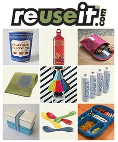 REUSE IT offers great products and ideas to help you eliminate waste and disposables.